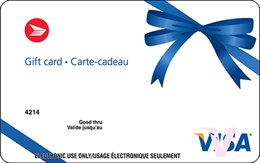 Canada Post Visa Gift Card