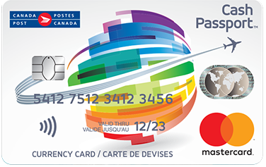 Cash Passport Prepaid Mastercard